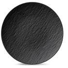 villeroyboch德国唯宝进口西餐盘个性盘子创意白色浮雕黑新款Rock