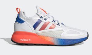 Adidas ZX 2K BOOST 易烊千玺同款经典运动鞋