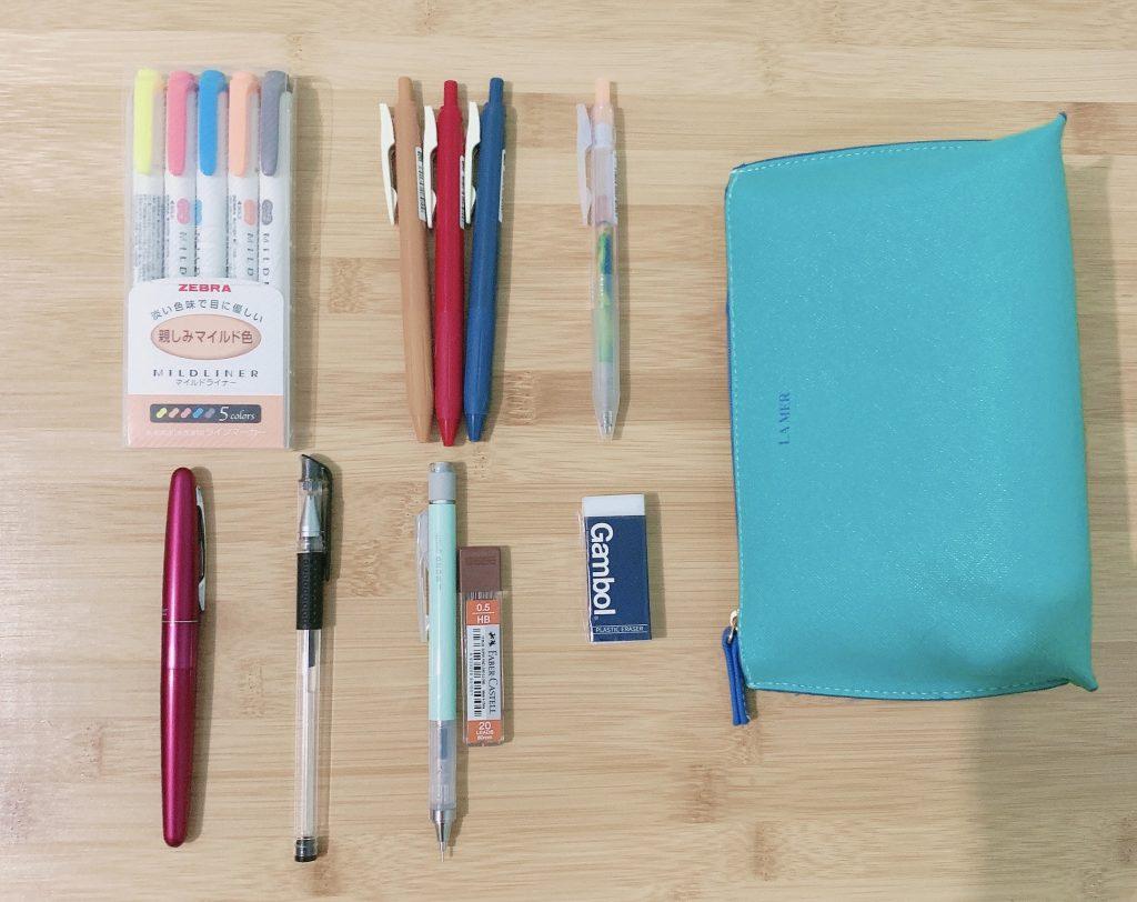 如何拥有一个完美的笔袋,我的笔袋大公开。
